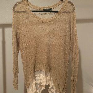 Brown see through Millau shirt